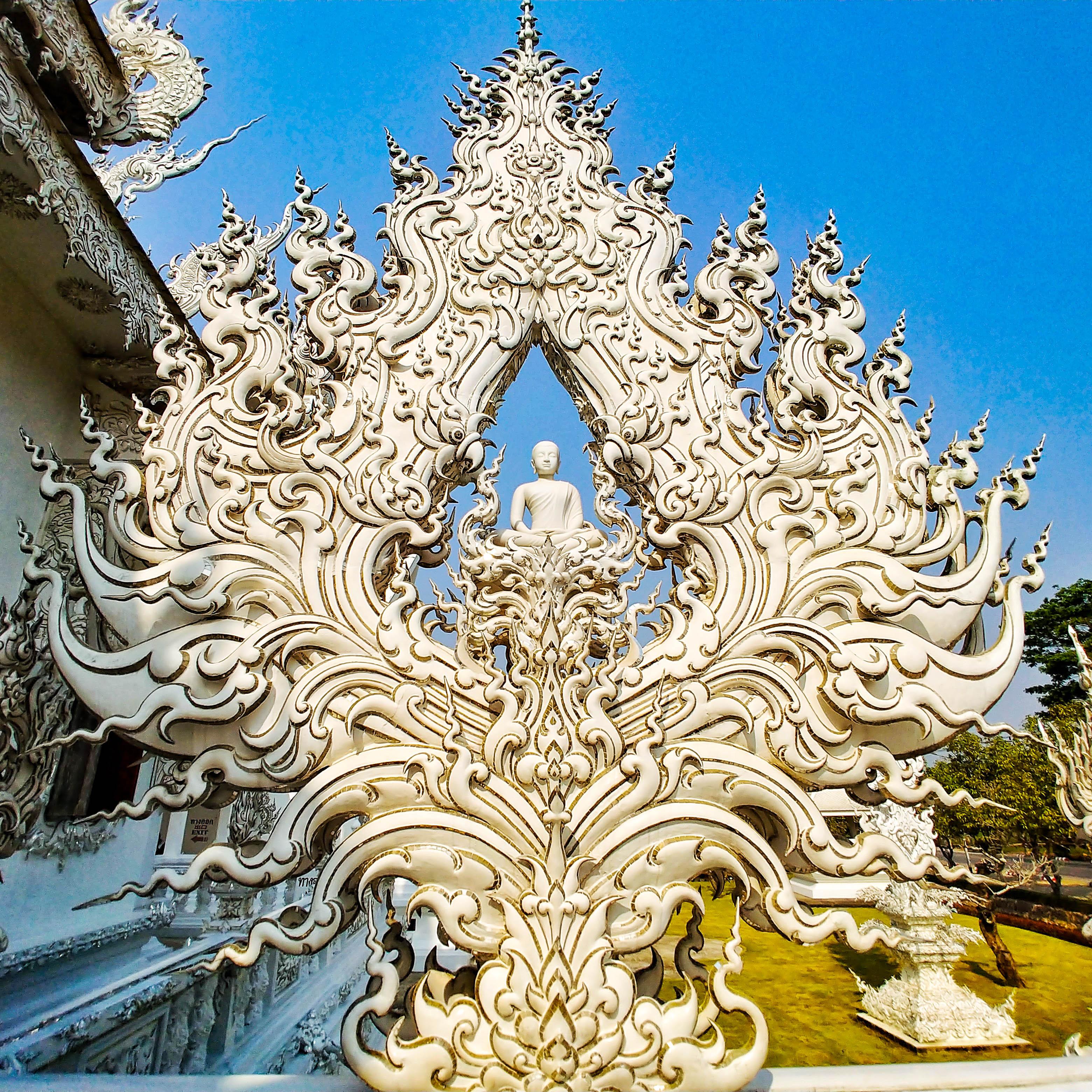 Wat Rong Khun Biała Świątynia w Tajlandii