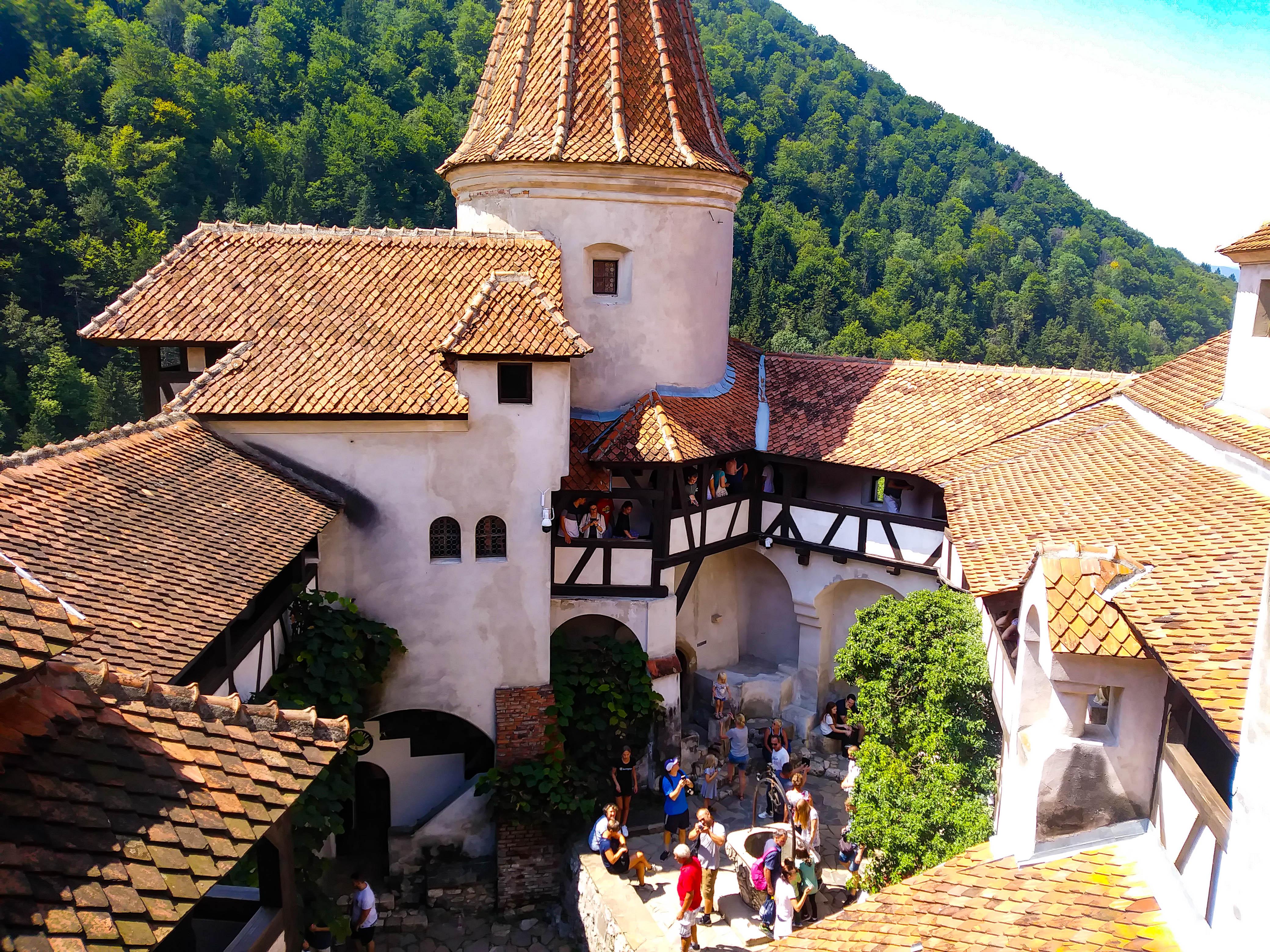 Rumunia, zamek Drakuli, Bran