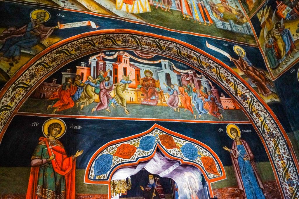 Rumunia, klasztor Polovragi