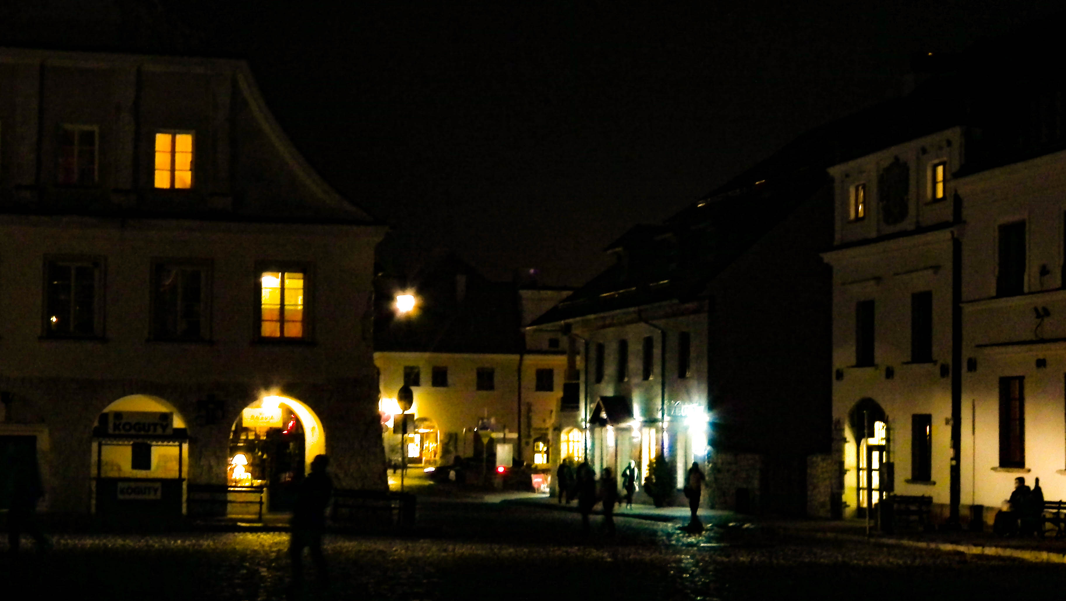 Kazimierz Dolny nocą