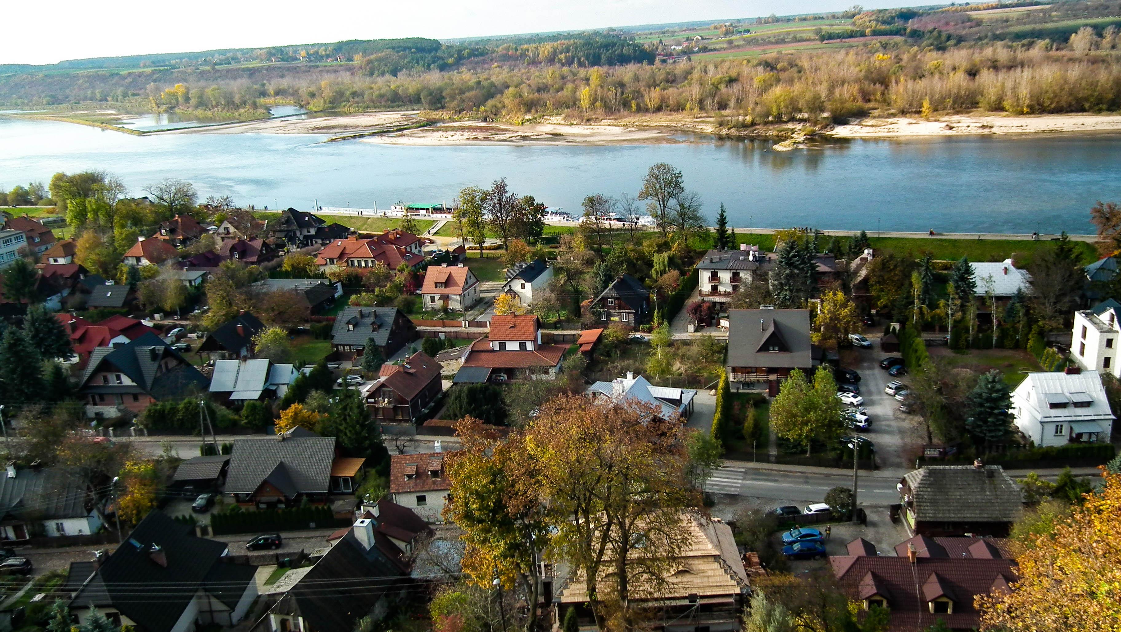 Kazimierz Dolny, widok na miasto