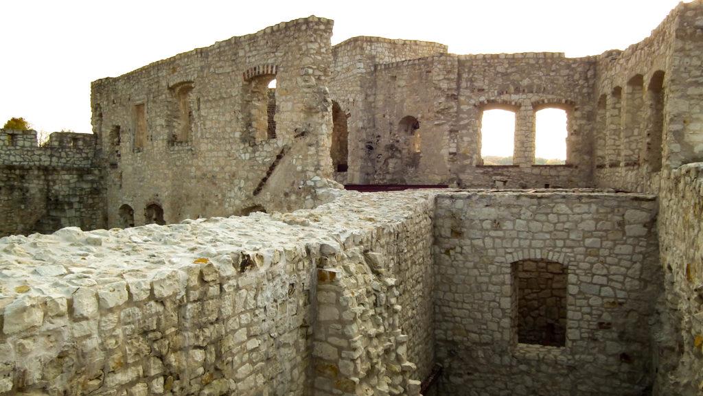 Kazimierz Dolny, ruiny zamku