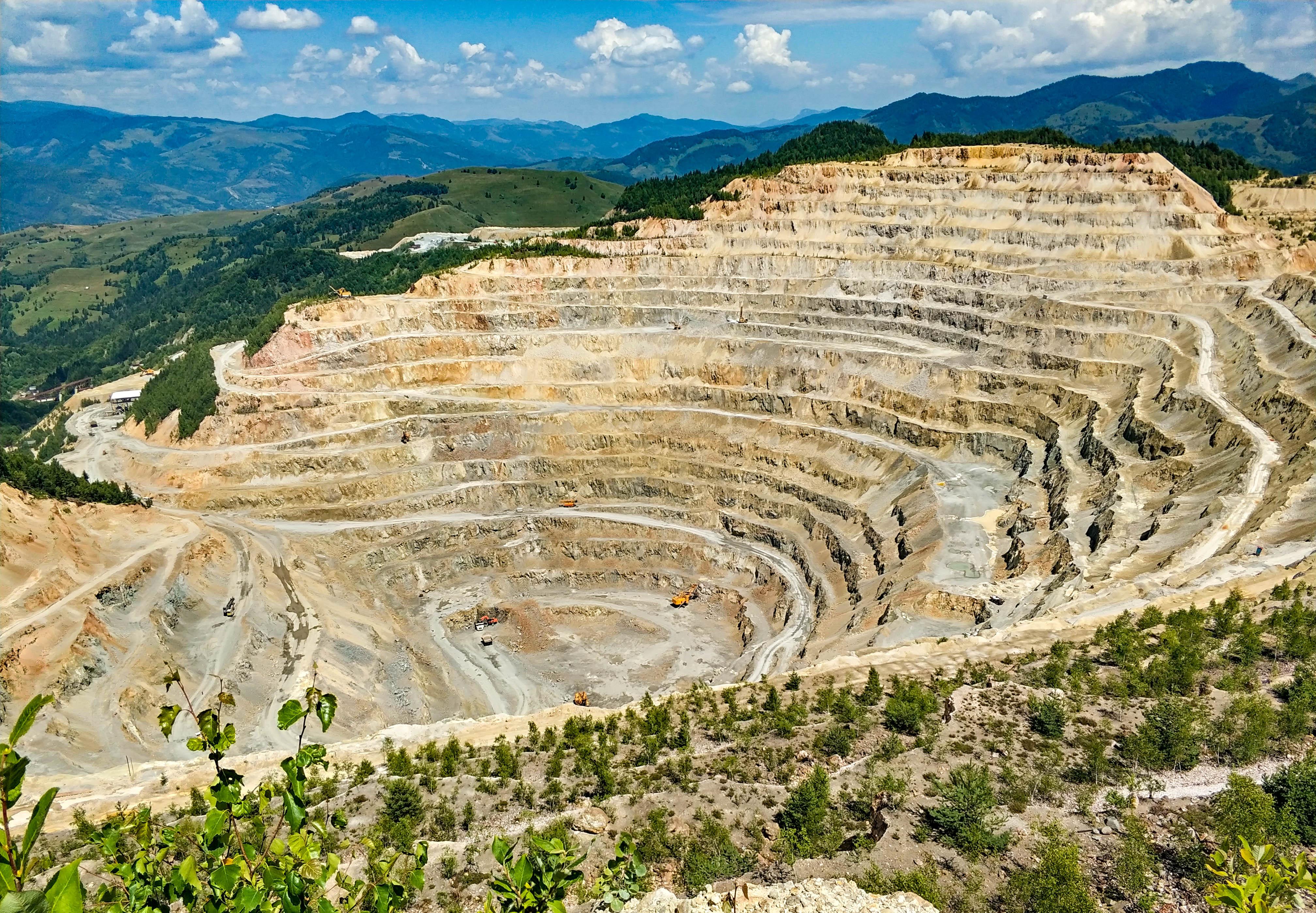 Rumunia, kopalnia, Rosia Poieni