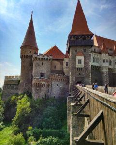 Rumunia, zamek Korwina, Hunedoara