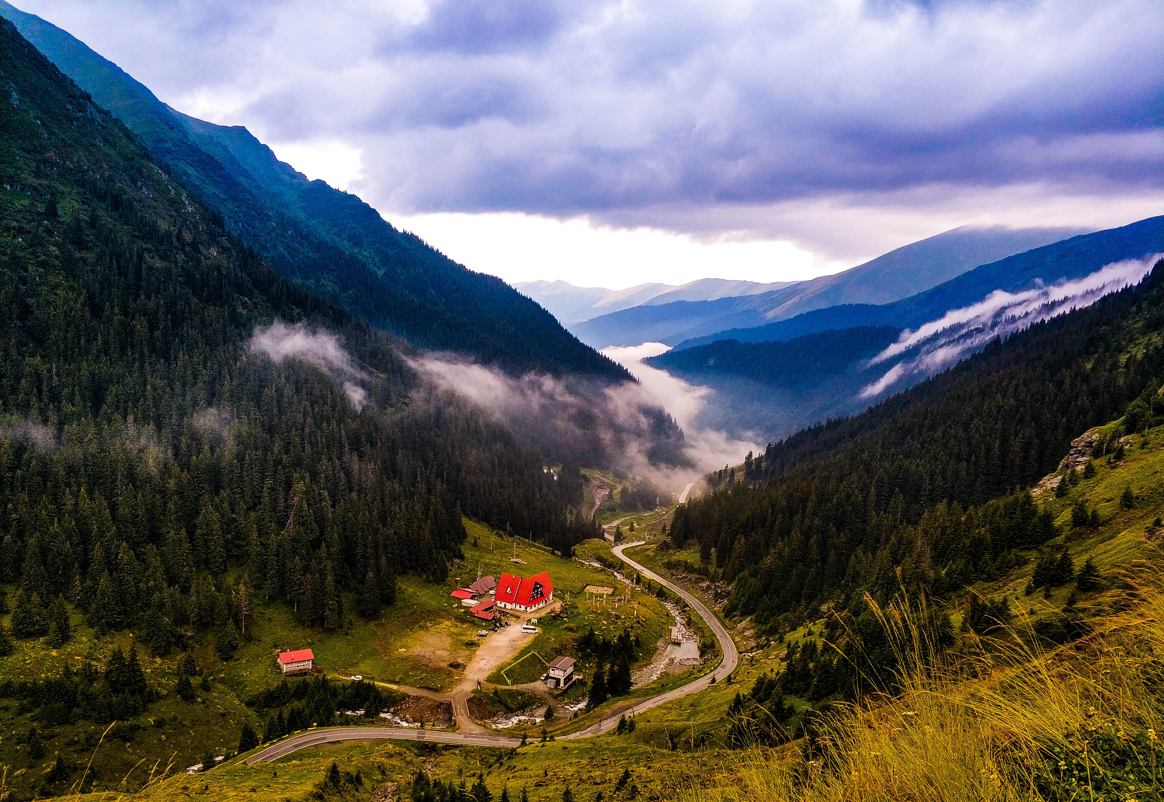 Transfogarska, widok na dolinę