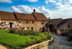 Rumunia, zamek chłopski, Rasnov