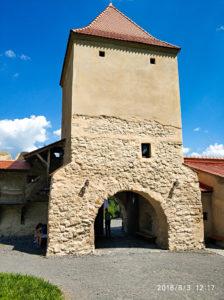 Rumunia, zamek chłopski, Rupea