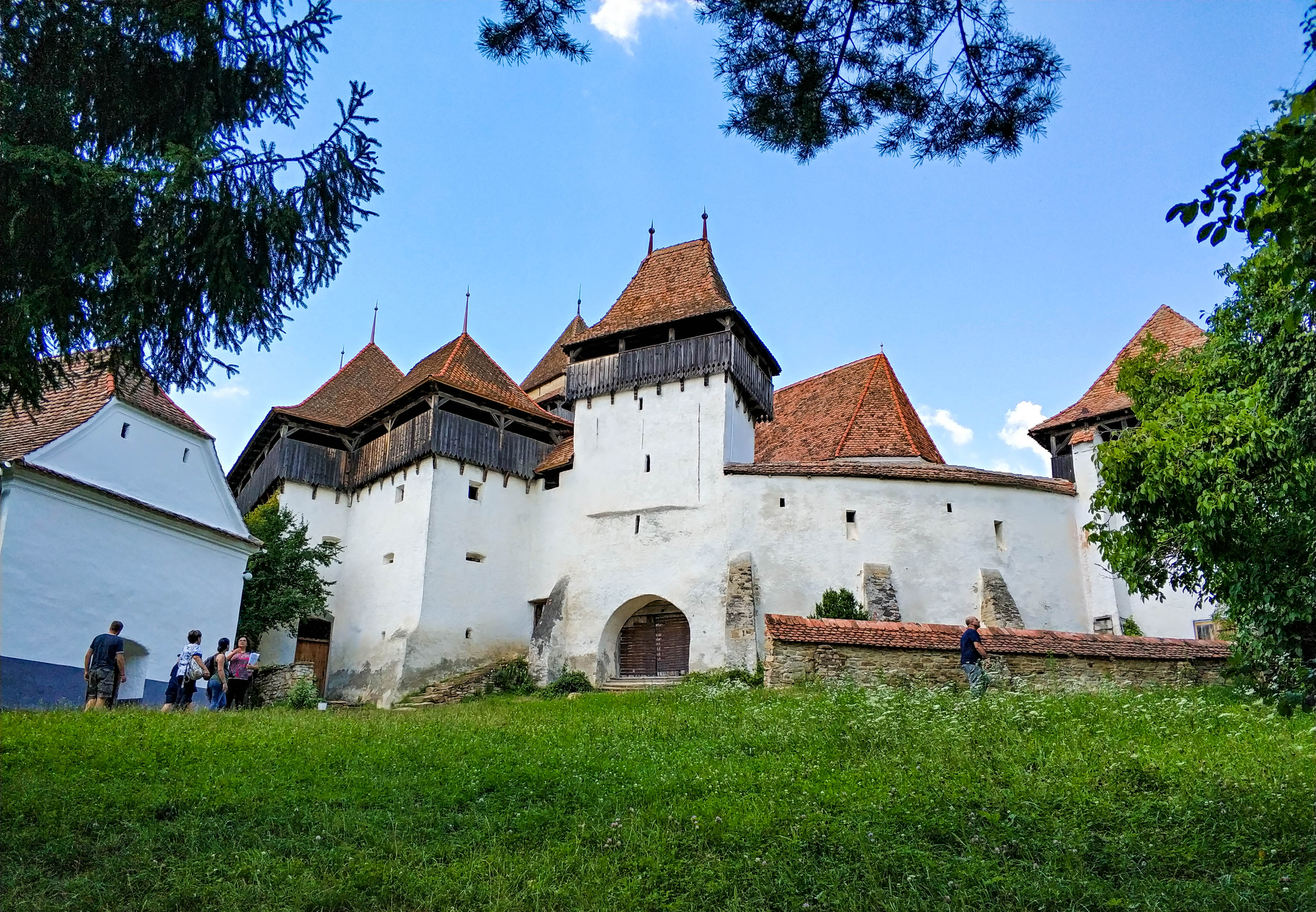 Rumunia, Viscri, kościół warowny