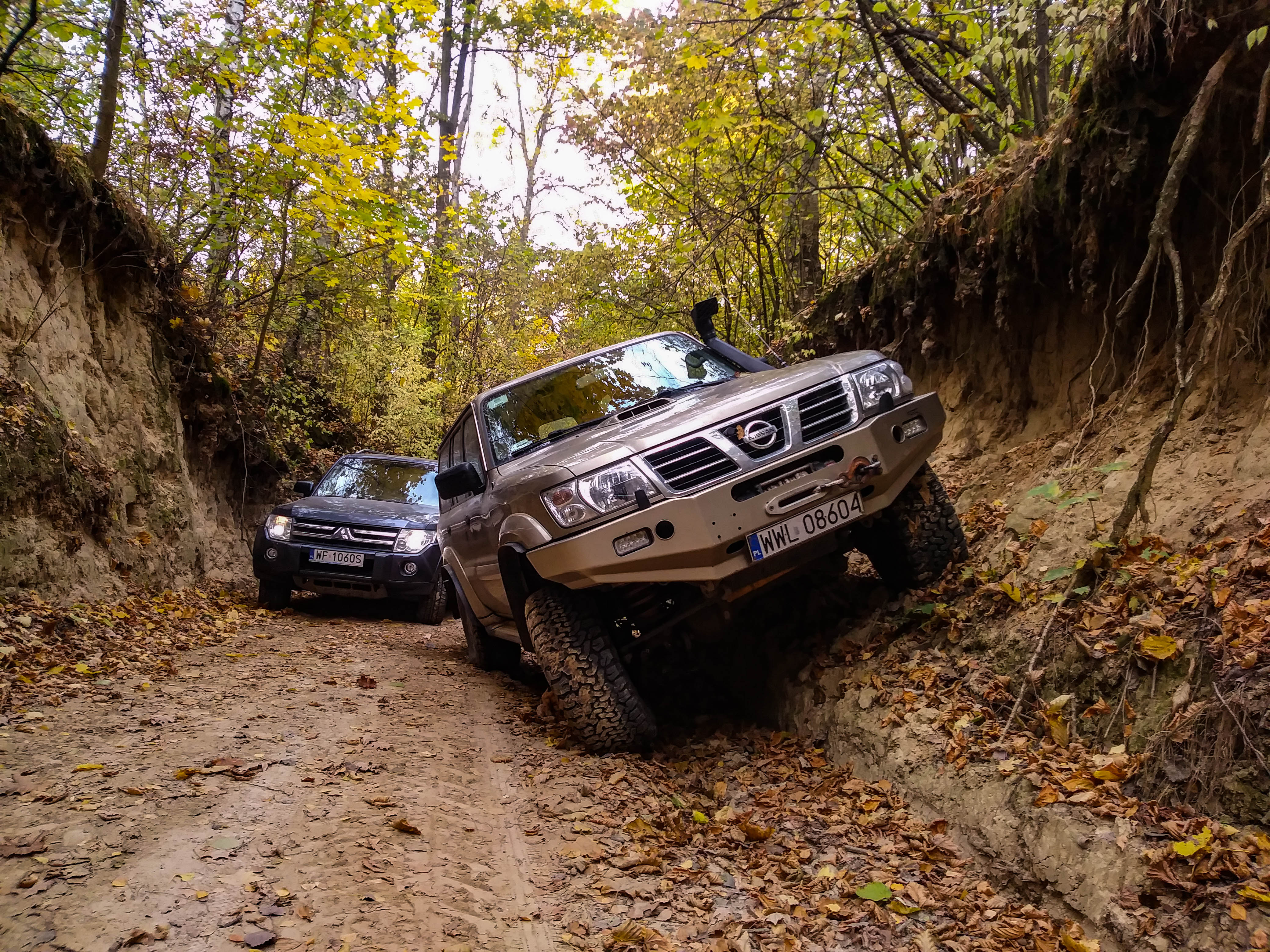 samochody w wąwozie, Kazimierz Dolny
