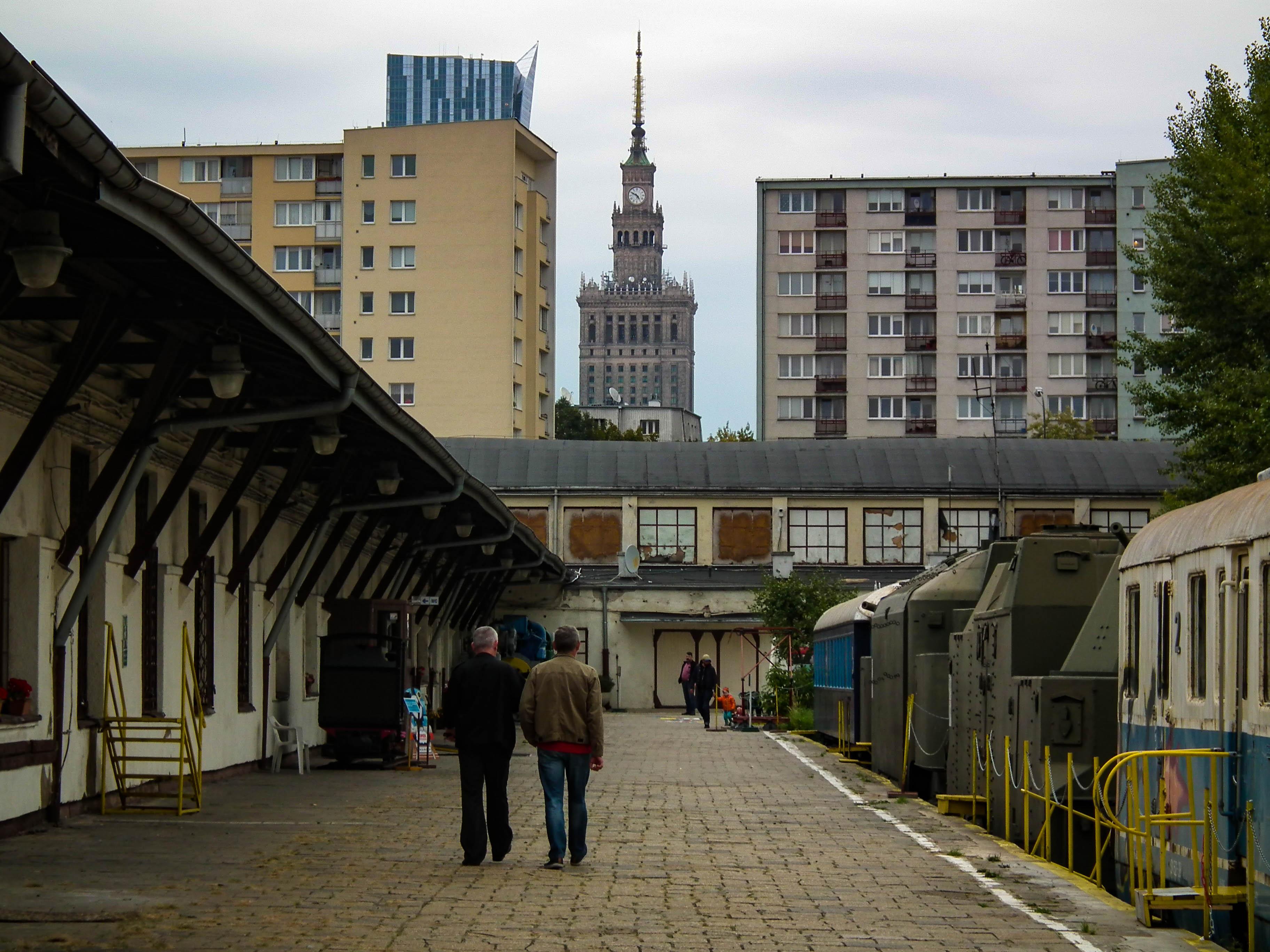 muzeum stacja, Warszawa