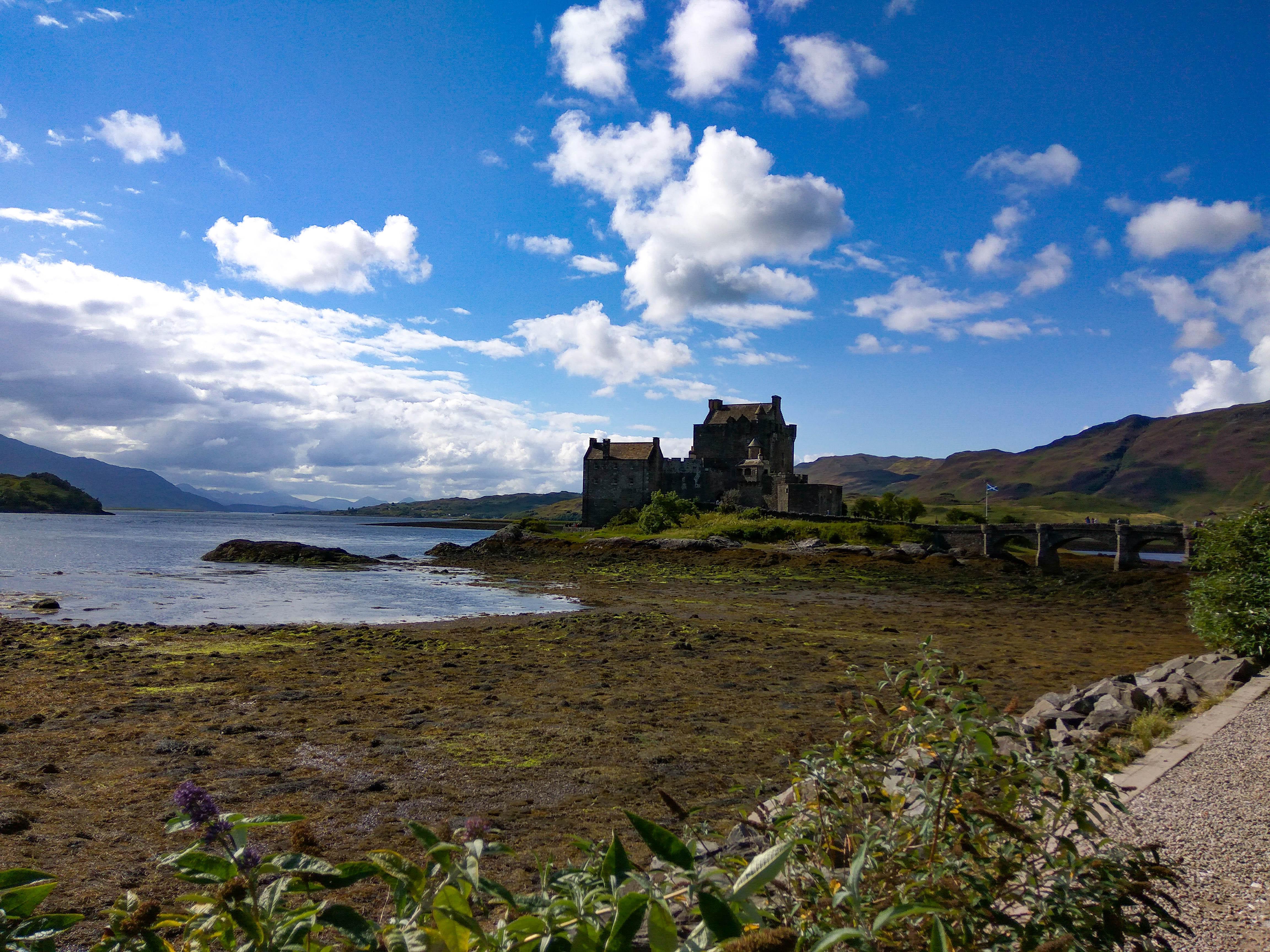 Szkocja, zamek Eilean Donan