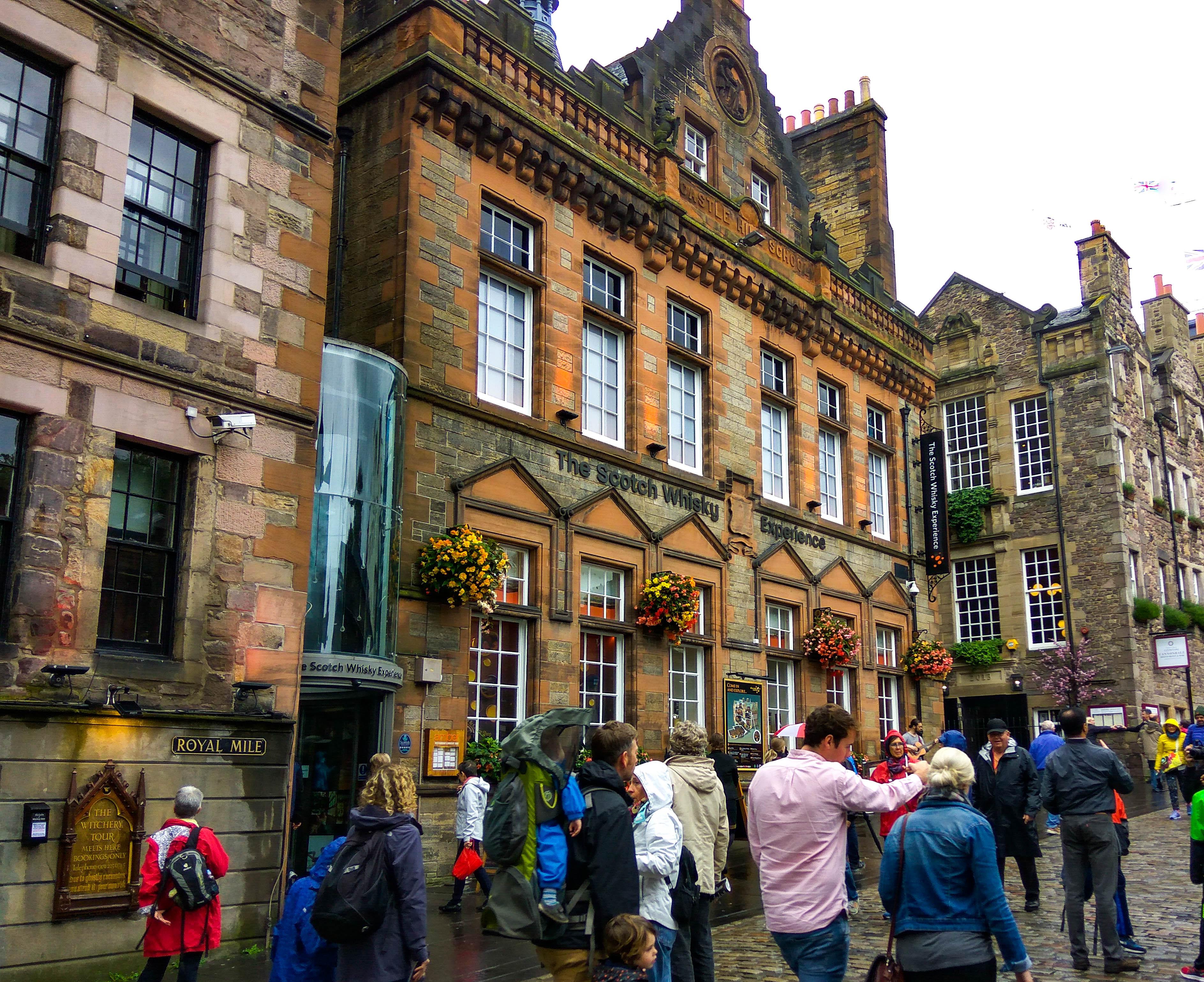 Szkocja, Edynburg, Muzeum Whisky