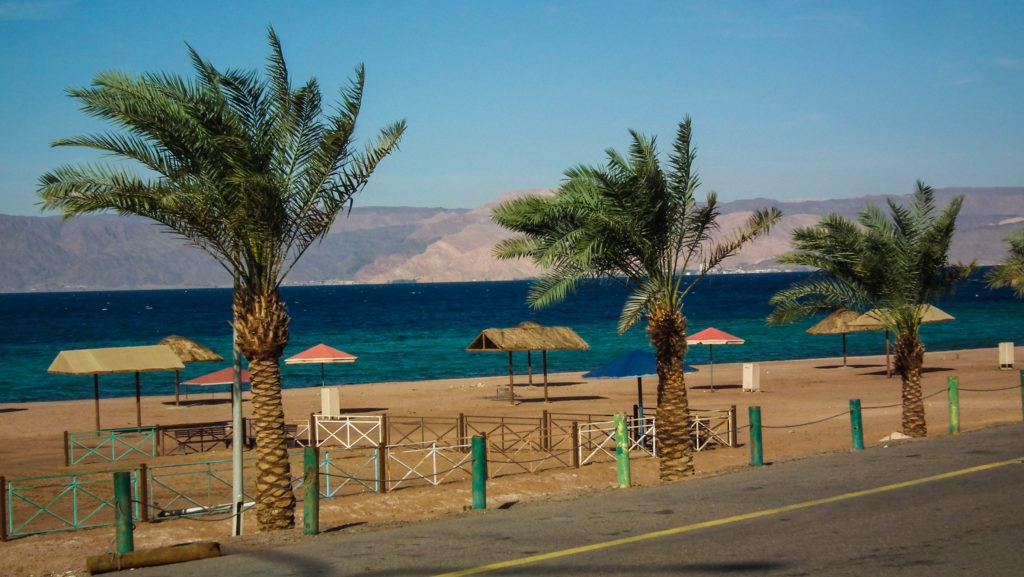 Jordania, Morze Czerwone