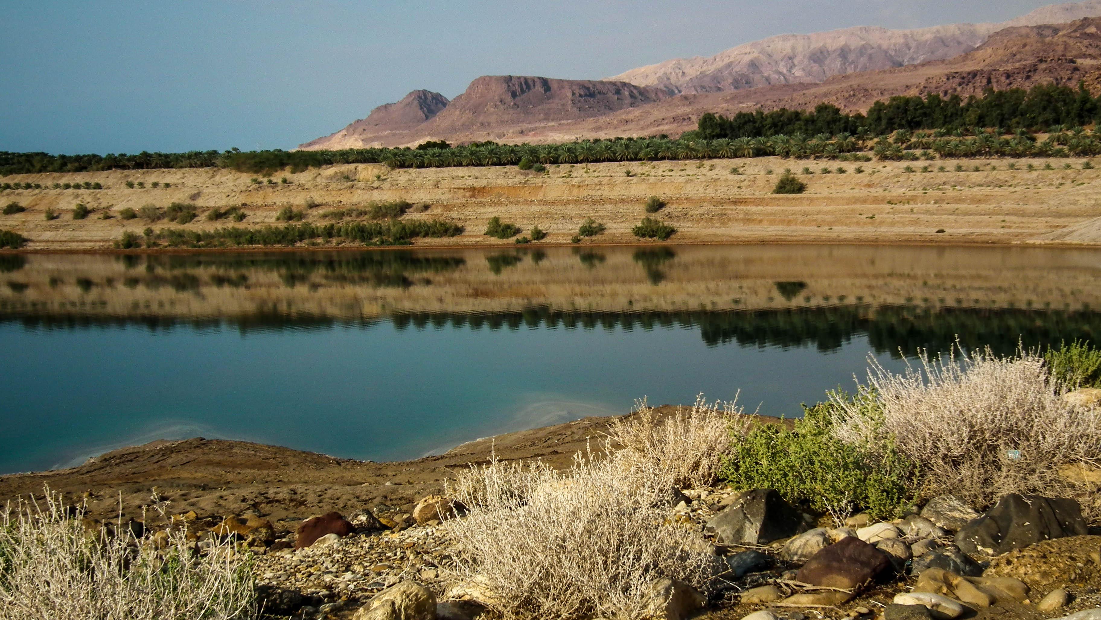 Jordania, Morze Martwe
