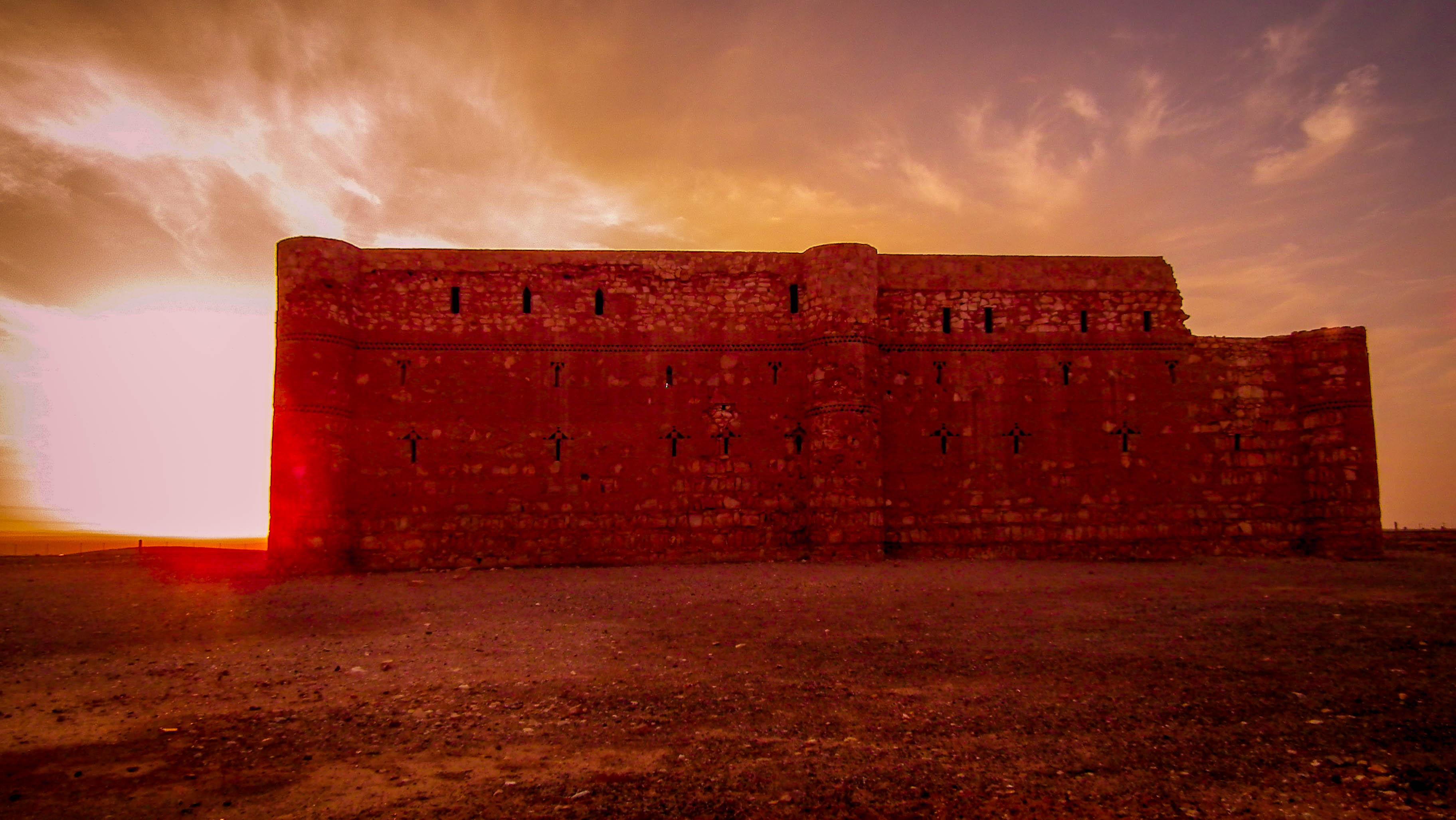 Jordania, zamki pustynne, Kasr al-Charana