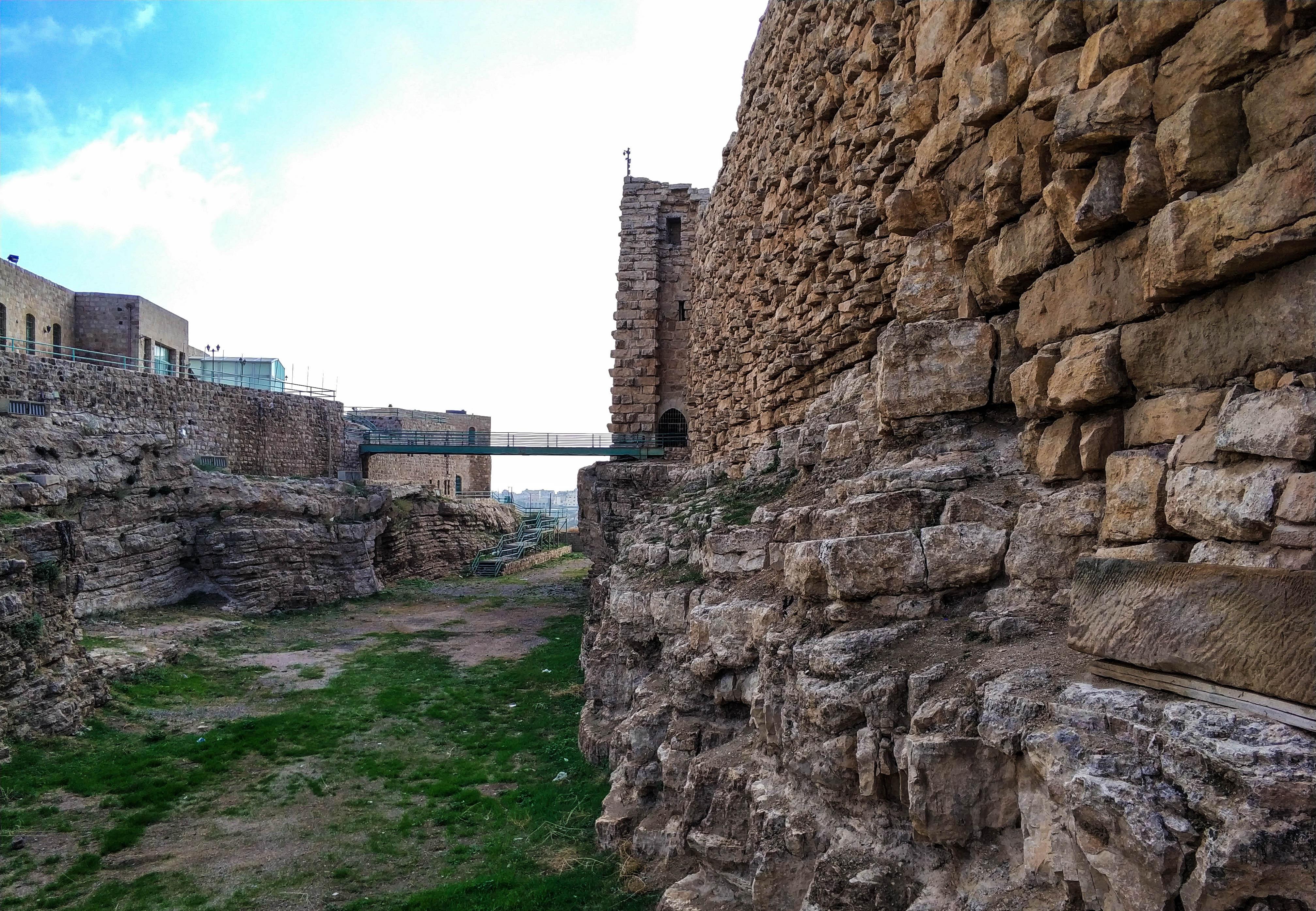 Jordania, Al-Karak, zamek Kerak