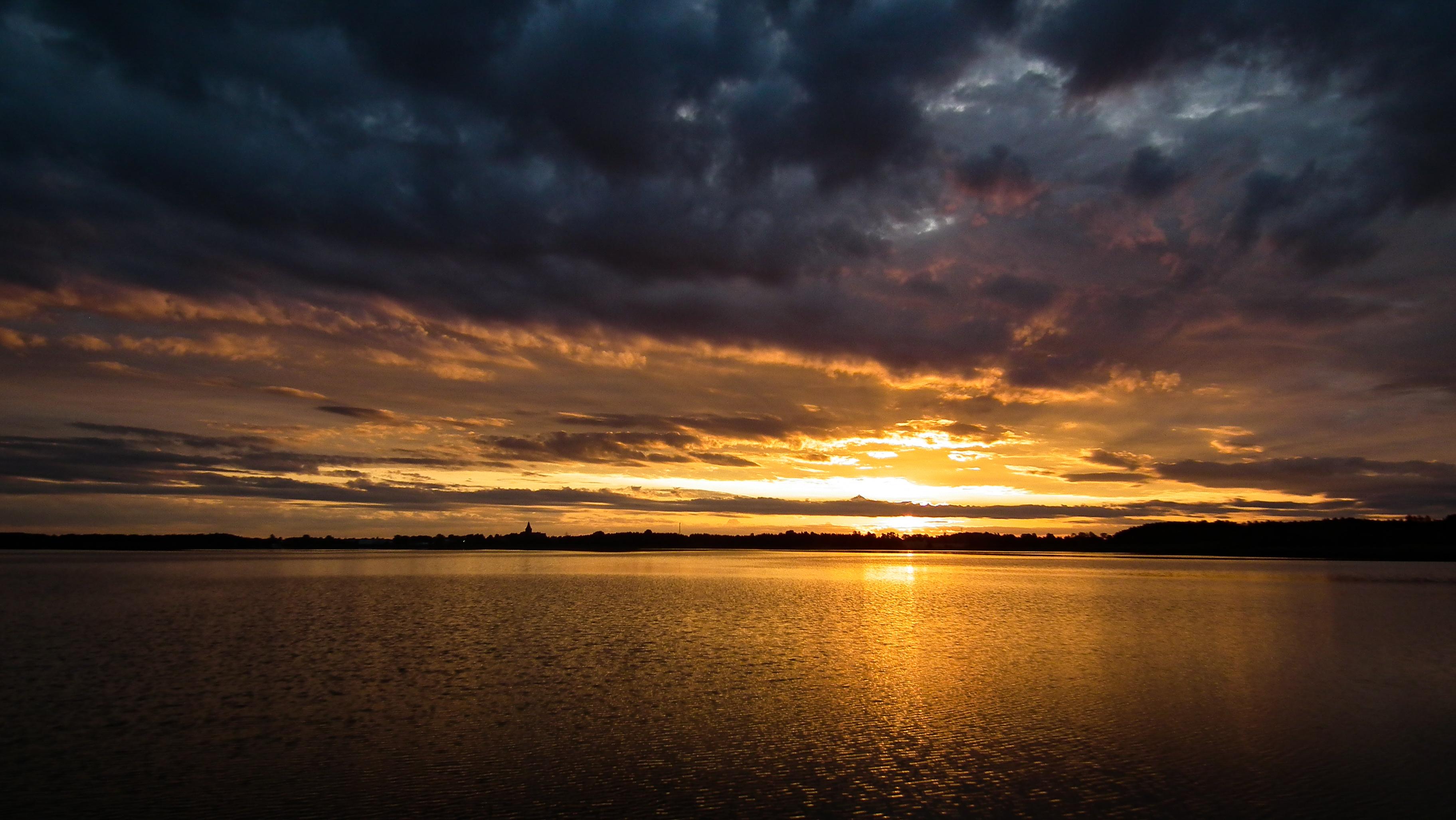 wschód słońca Jezioro Ewingi