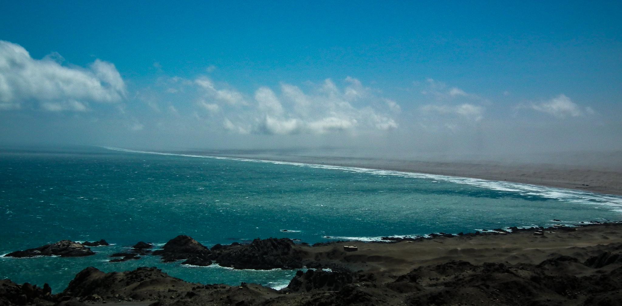 Południowe wybrzeże Peru