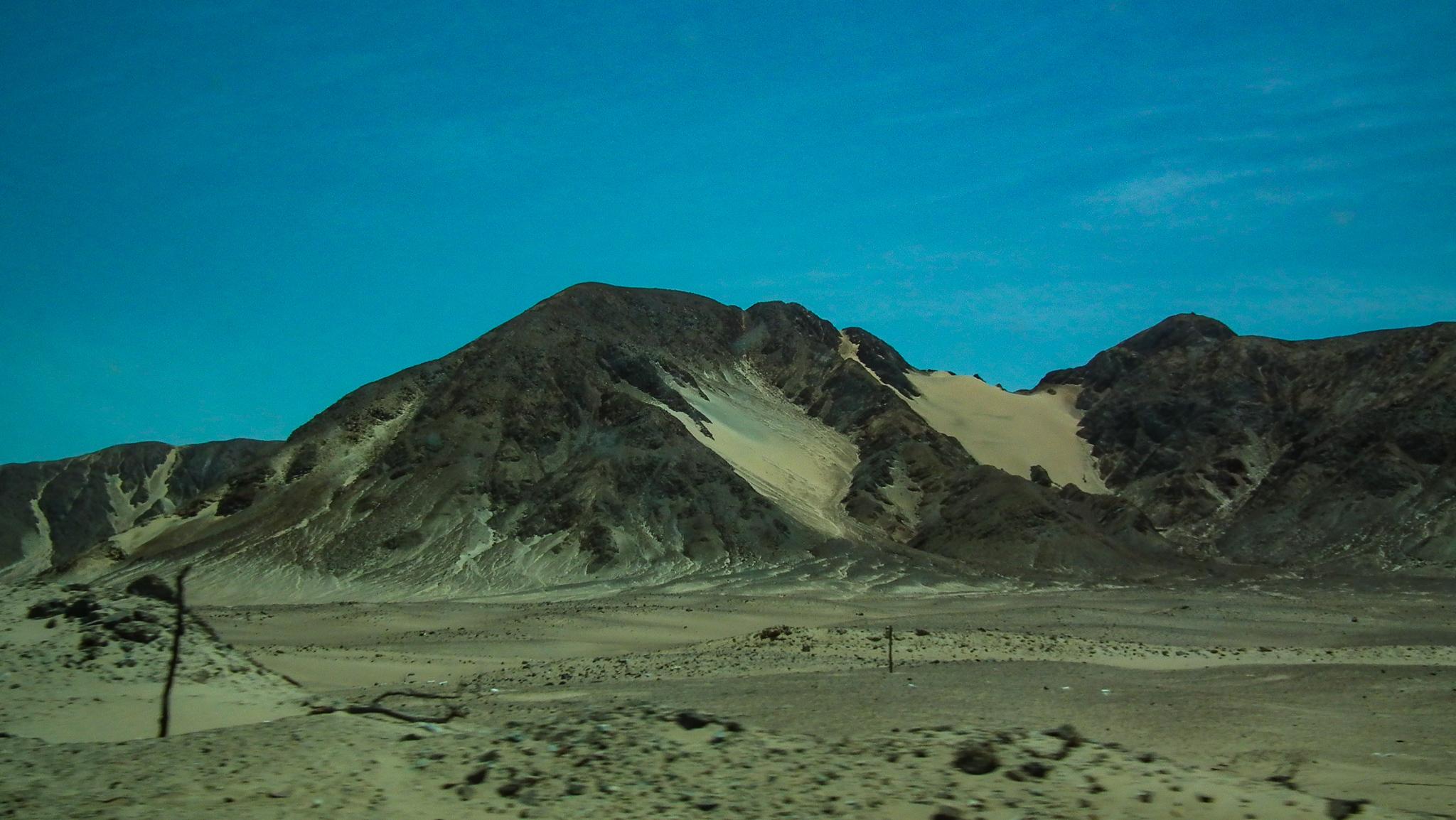 Peru pustynia