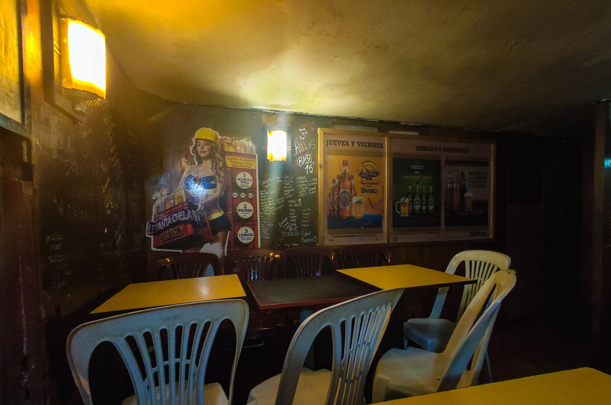 restauracja w Limie