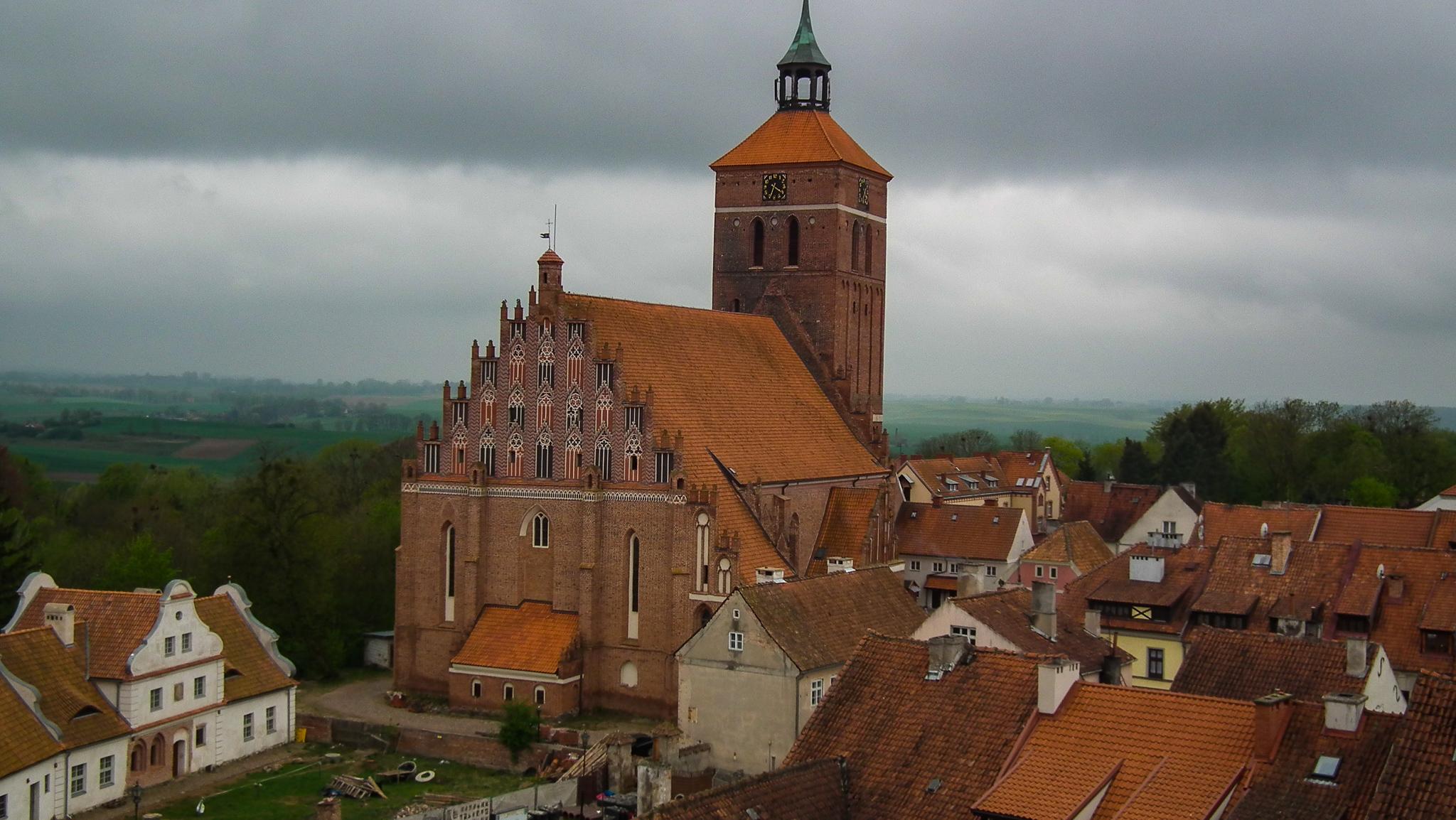 Reszel - Kościół farny pw. św. Piotra i Pawła