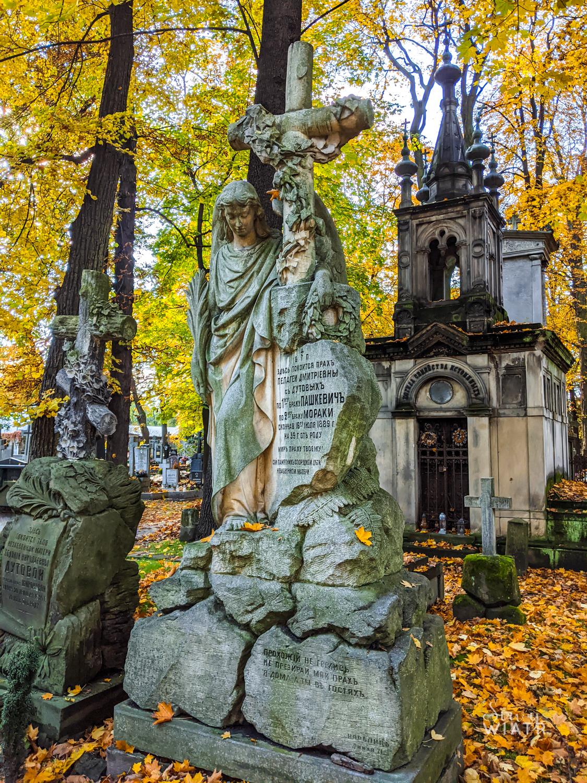 cmentarz prawosławny na Woli