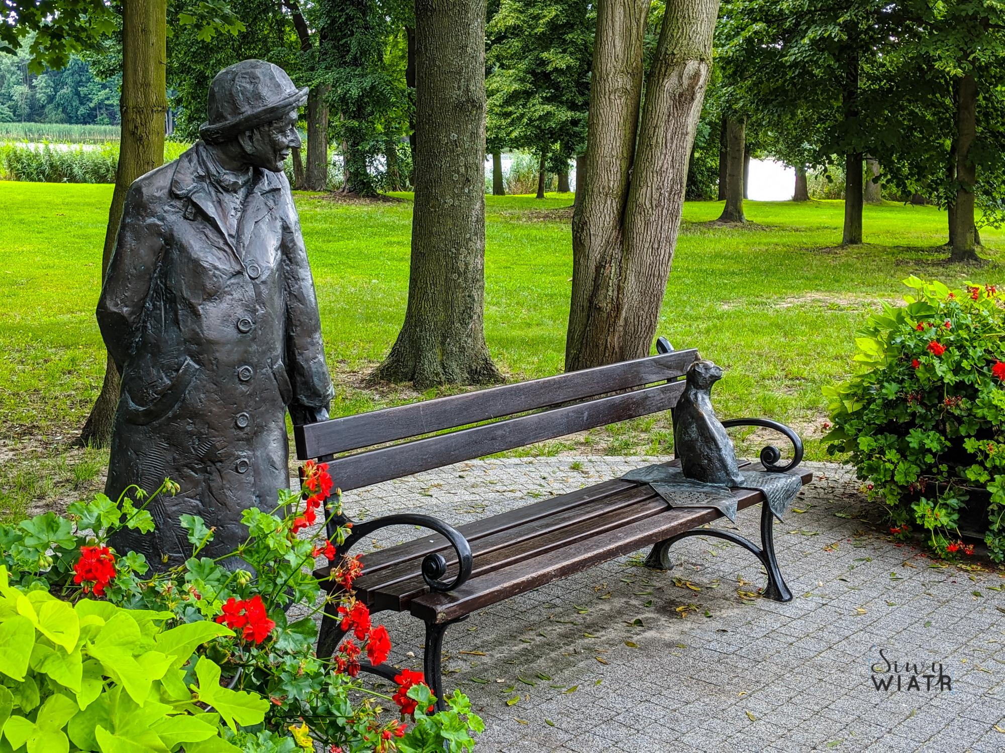 ławeczka Szymborskiej