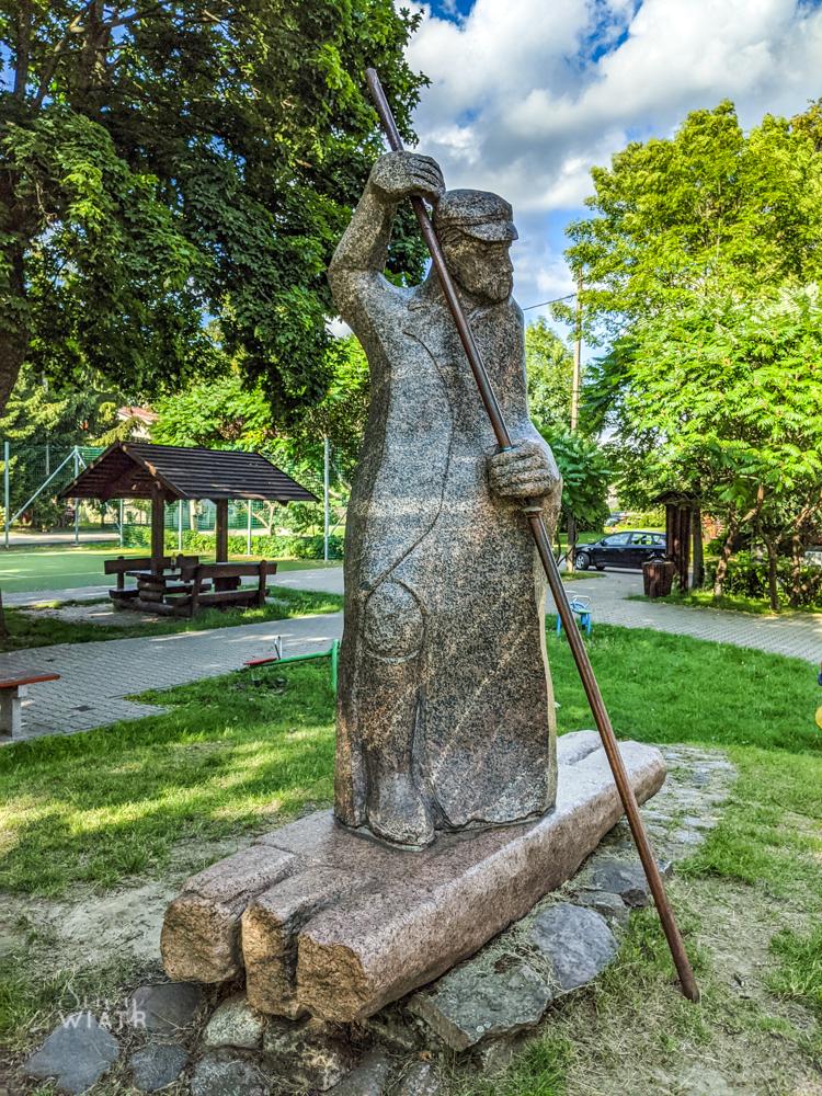 pomnik flisaka w Kamieńczyku